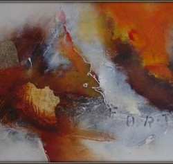Acryl a. Leinen 60x120